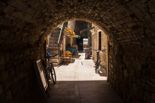 A hidden place in Trogir; 2014