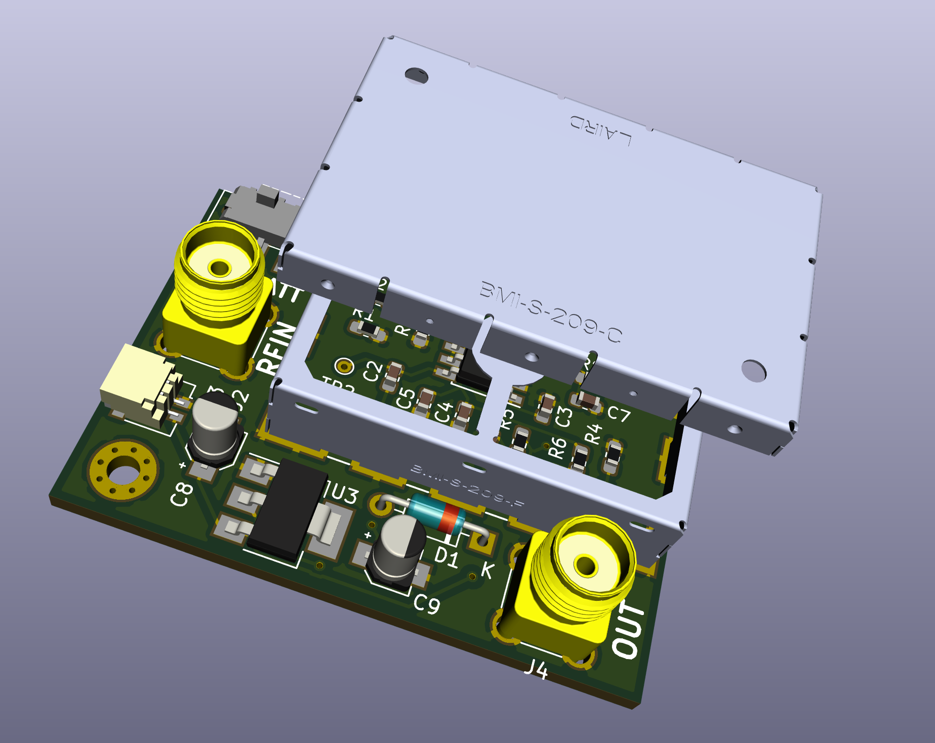 AD8307 RF Power Meter | Alauda Projects